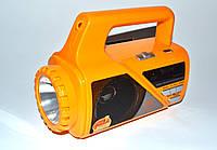 Радио-фонарь светодиодный GOLON RX-660rec+FM USB/SD MP3, фото 1