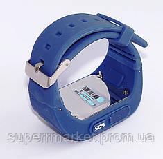 GW300 Smart Baby Watch Q50 детские смарт часы с трекером  без коробки , blue, фото 3