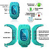 GW300 Smart Baby Watch Q50 детские смарт часы с трекером  без коробки , blue, фото 5