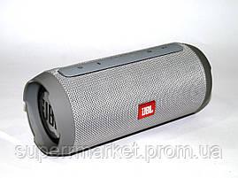 JBL Charge K3+ 15W копия, портативная колонка с Bluetooth FM MP3, серая, фото 3