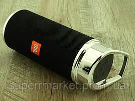 JBL music m266 реплика, портативная колонка 10W с Bluetooth FM и MP3, черная, фото 2