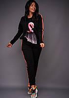 Спортивный костюм  женский батал Сова, фото 1