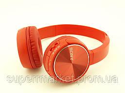 SONY MDR-XB400BY Bluetooth наушники гарнитура c FM MP3 реплика, красные, фото 3