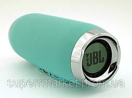 JBL Charge 4+ E4plus 20W копия, портативная колонка с Bluetooth FM и MP3, Teal мятная, фото 2