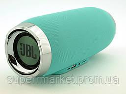 JBL Charge 4+ E4plus 20W копия, портативная колонка с Bluetooth FM и MP3, Teal мятная, фото 3