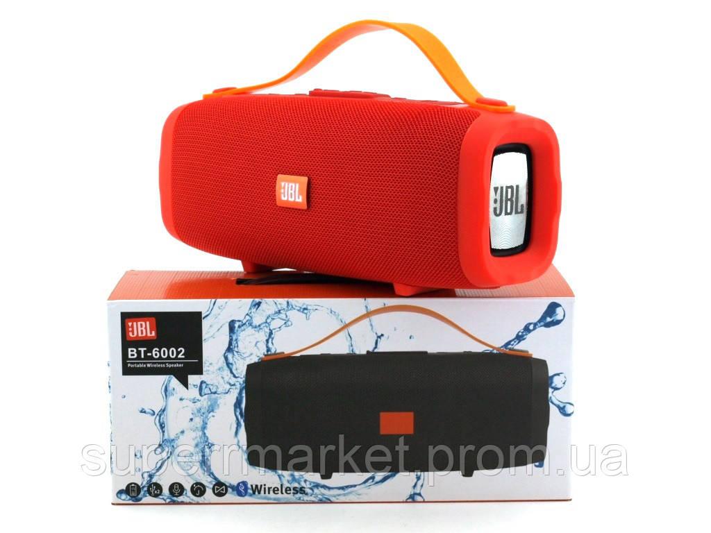 JBL BT-6002 10W копия Explorer CY-34, портативная колонка с Bluetooth FM MP3, красная