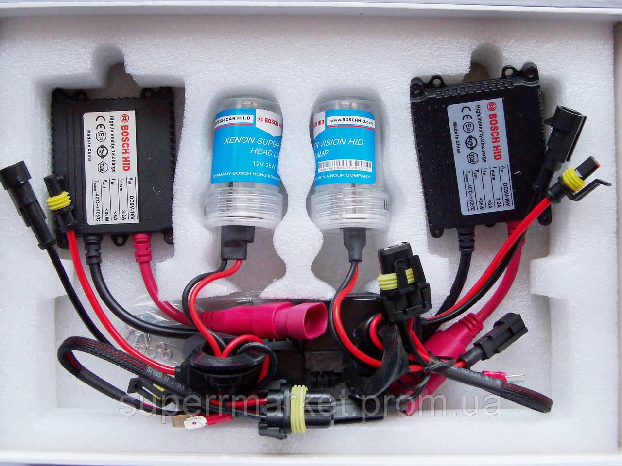 HID XENON H3  bosch  5000K 12V 35W - комплект ксеноновых ламп для автомобиля