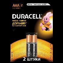 Батарейка Duracell - AAA 2 шт. уп.