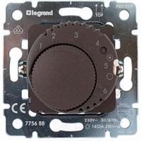 Термостат с датчиком для теплого пола (диапазон регулировки: от +10°C до + 60°C), (16А при cosф = 1) Legrand