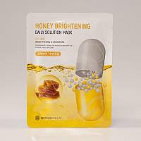 Тканевая маска для лица с медом ENOUGH BONIBELLA HONEY BRIGHTENING DAILY SOLUTION MASK - 23 мл