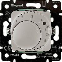 Термостат с датчиком для теплого пола (диапазон регулировки: от +10°C до + 60°C), (16А при cosф = 1) Galea Lif