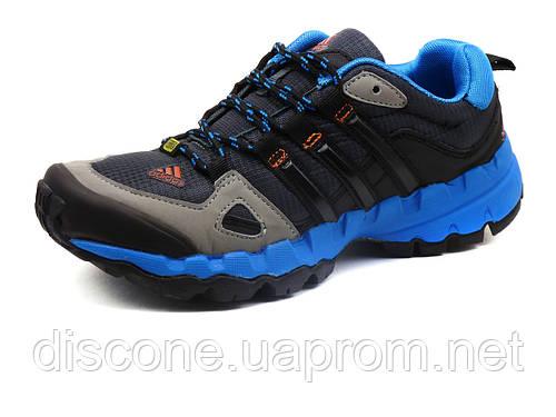 Кроссовки Terrex, унисекс, текстильные черные с синим