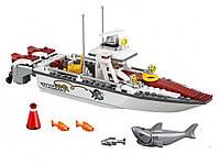 Конструктор Lego City Рыболовный катер 159 шт.