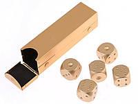 Набір кісток Moun 5 шт. з алюмінію  Золотий