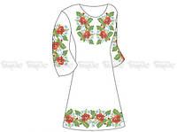 Заготовка женского платья для вышивки бисером «Роскошь лета»