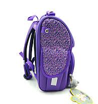 Рюкзак школьный каркасный Gorangd 35.5x26x13.5 см 12л Фиолетовый (1923/2), фото 2