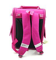 Рюкзак школьный каркасный Gorangd 35.5x26x13.5 см 12л Розовый (1923/4), фото 2
