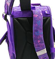 Рюкзак школьный каркасный Gorangd 35.5x26x13.5 см 12л Фиолетовый (1923/7), фото 3