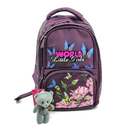 Рюкзак школьный Gorangd 28 х 40 х 14 см Фиолетовый (r1914/2), фото 2