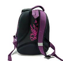 Рюкзак школьный Gorangd 28 х 40 х 14 см Фиолетовый (r1914/2), фото 3