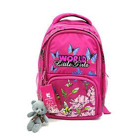 Рюкзак школьный Gorangd 28 х 40 х 14 см Розовый (r1914/1)