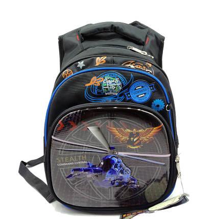 Рюкзак школьный Gorangd 30 х 38 х 16 см Черный (r1971/1), фото 2