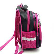Рюкзак школьный Gorangd 30 х 38 х 16 см Черный с розовым (r1971/2), фото 3