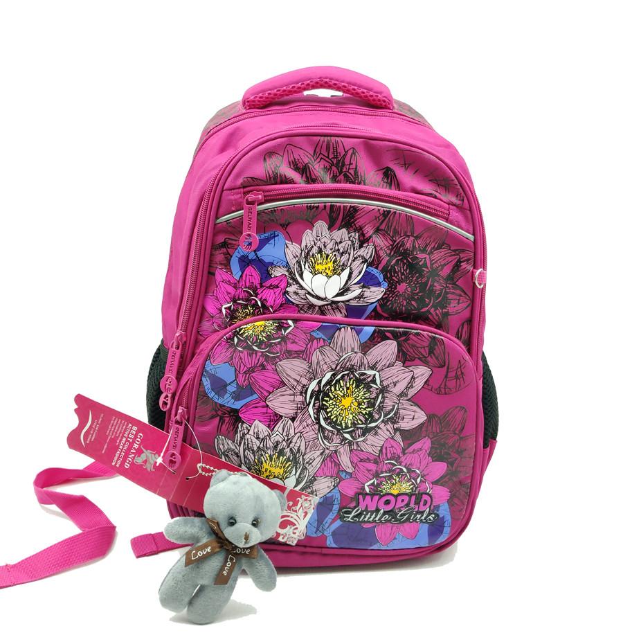 Рюкзак школьный Gorangd 28 х 40 х 15 см Розовый (r1906/2)
