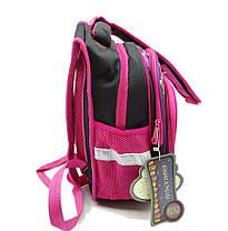 Рюкзак школьный Gorangd 30 х 40 х 16 см Черный с розовым (r1972/1), фото 2