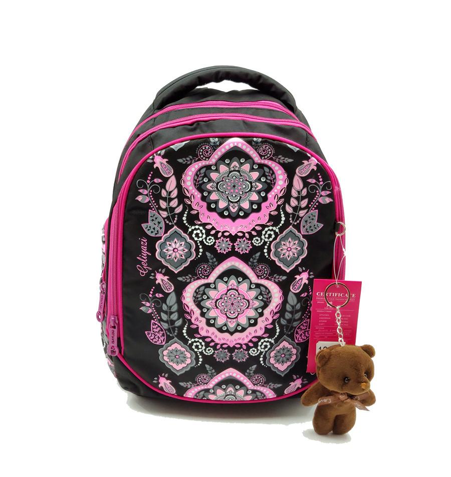 Рюкзак школьный Gorangd 28 х 38 х 15 см Черный (r1908/1)