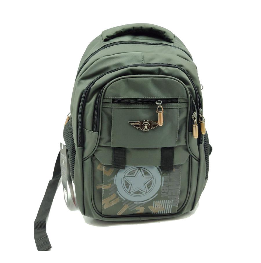 Рюкзак школьный Gorangd 30 х 40 х 16 см Зеленый (r1929/2)