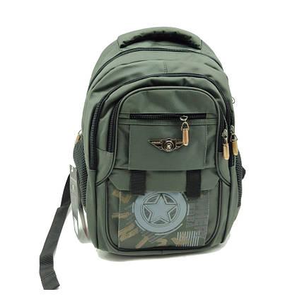 Рюкзак школьный Gorangd 30 х 40 х 16 см Зеленый (r1929/2), фото 2