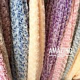 Плед покривало Баранець ( Каракуль ) з бамбукового волокна. Євро розмір 220х240 див., фото 3
