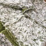 Плед покривало Баранець ( Каракуль ) з бамбукового волокна. Євро розмір 220х240 див., фото 2