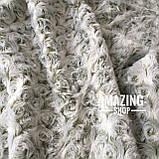 Плед покривало Баранець ( Каракуль ) з бамбукового волокна. Євро розмір 220х240 див., фото 6
