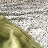 Плед покривало Баранець ( Каракуль ) з бамбукового волокна. Євро розмір 220х240 див., фото 7
