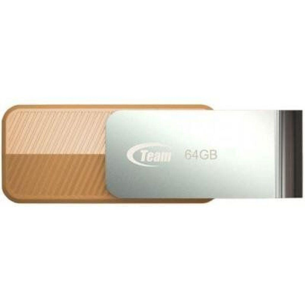 USB флеш накопитель Team 64GB C143 Brown USB 3.0 (TC143364GN01)