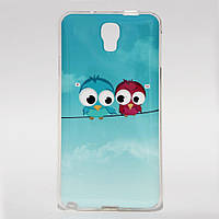 Чехол силиконовый для Samsung Galaxy Note 3 Neo SM-N750 N7505 Birds