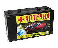 Аптечка Евро-NEW с охлажд. контейнером (пластиковый черный кейс) 12 позиций