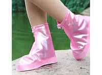 Дождевик для обуви Розовый  (S)