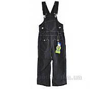 Полукомбинезон джинсовый утепленный Одягайко 1335 26