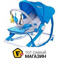 Кресло-качалка Caretero Car.Aqua(blue)