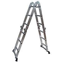 Кентавр Шарнирная лестница КЕНТАВР 4х4м