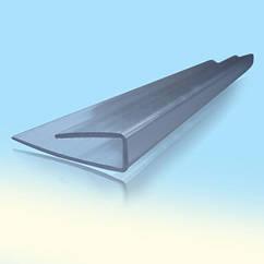 Торцевой профиль для поликарбоната 4мм