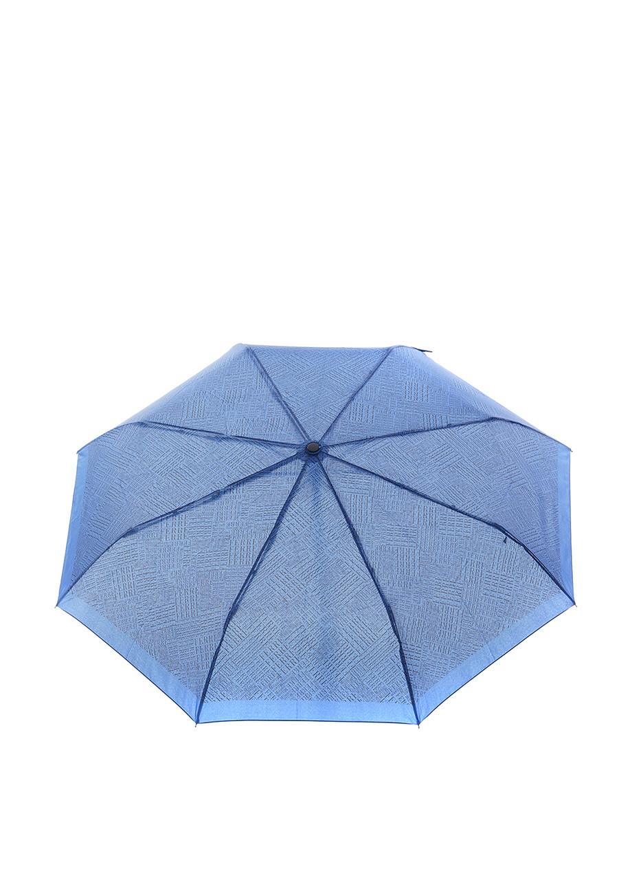Зонт-автомат Ferre мужской Синий с буквами (4/F-U), фото 1