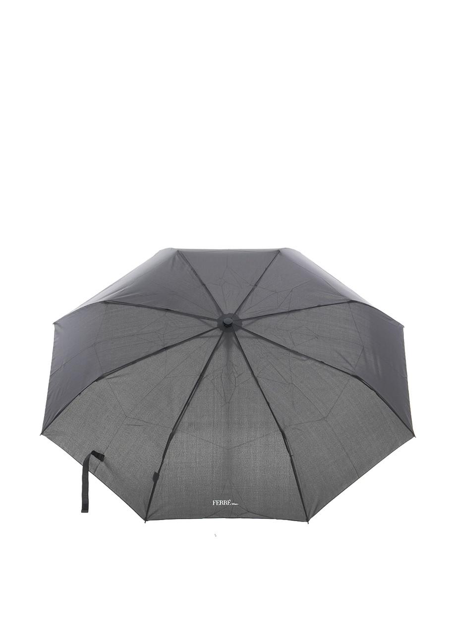 Зонт-автомат Ferre мужской Черный (9-U)