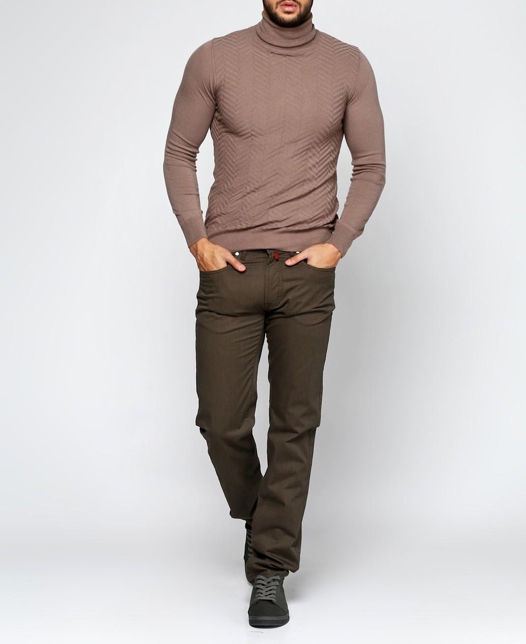 Мужские джинсы Pierre Cardin 40/32 Коричневый (2900054480019)