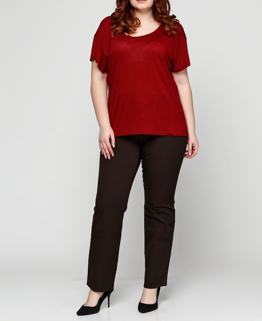 Женские штаны Gerry Weber 44S Темно-коричневый (290055045019), фото 1