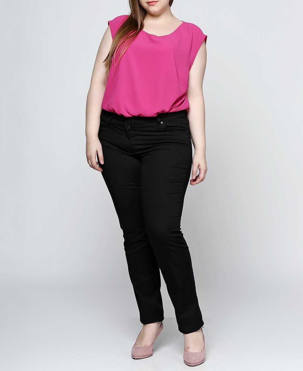 Женские штаны Gerry Weber 42R Черный (2900054104014)