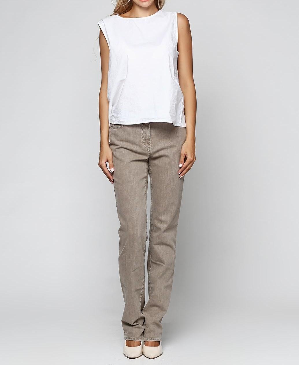 Женские штаны Gerry Weber 42S Бежевый (2900054114013)